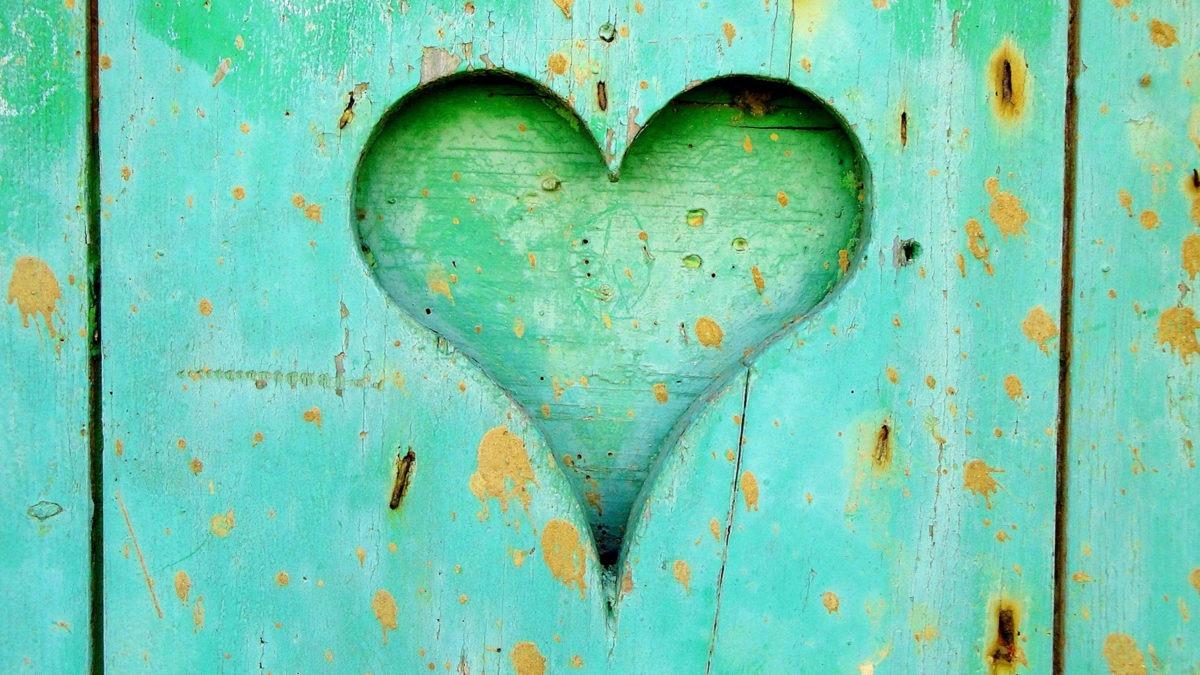 Hjärta som symboliserar psykisk ohälsa.