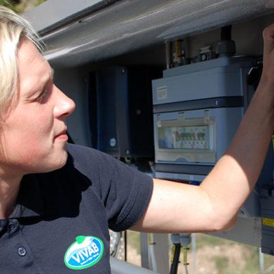 Bättre och luktfri arbetsmiljö i nytt reningsverk