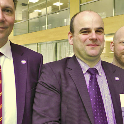 AFA Försäkrings arbetsskaderapport 2013 presenterades av Michel Normark, Per Anders Paulsson och Thomas Åkerström.