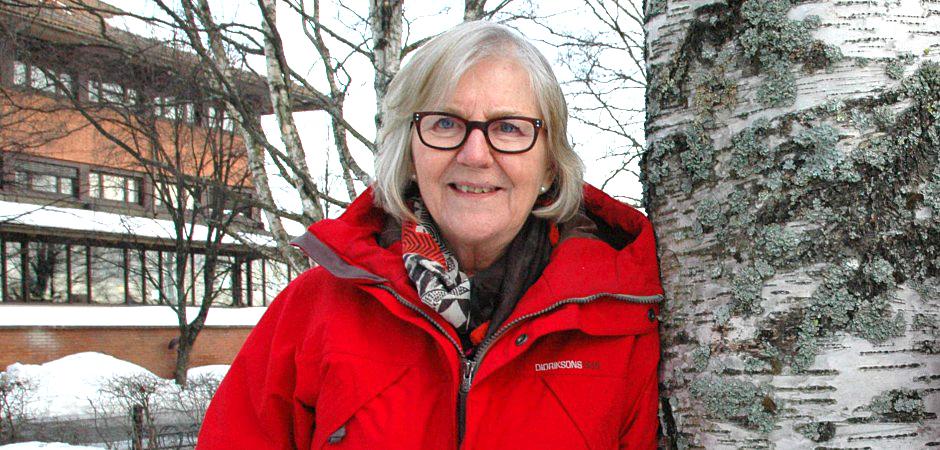 Berith Nyström är hälsoutvecklare i Västerbotten.