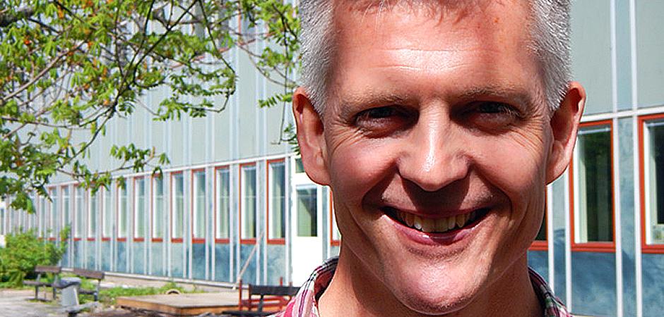 Johan Möllborg på Danderydsgeriatriken.