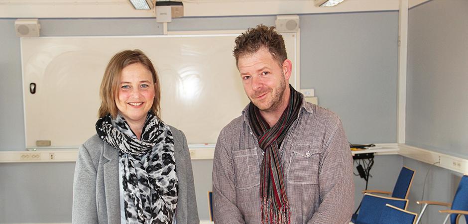Eva Hofvenstam och Kristian Bergén jobbar som HR-konsulter i Malmö stad och erbjuder alla stadens förvaltningar hjälp med utveckling på grupp-, individ- och ledarnivå.