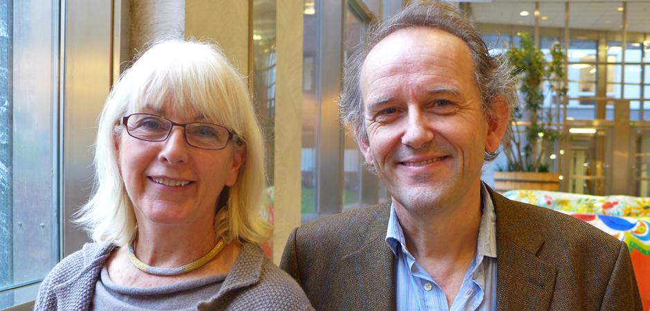 Professorerna Eva Vingård, vid Arbetsmiljömedicin i Uppsala, och Magnus Svartengren, vid Arbetsmiljöverket.