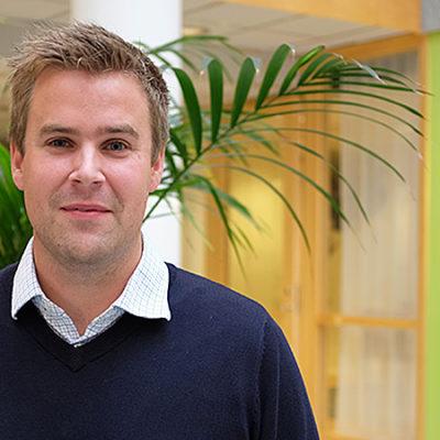 – Vi vill studera vilka effekter arbetsorganisationen har på den fysiska arbetsmiljön, för att se vilka effekter det i sin tur har på förskolepersonalens hälsa, säger forskaren Fredrik Sjödin.