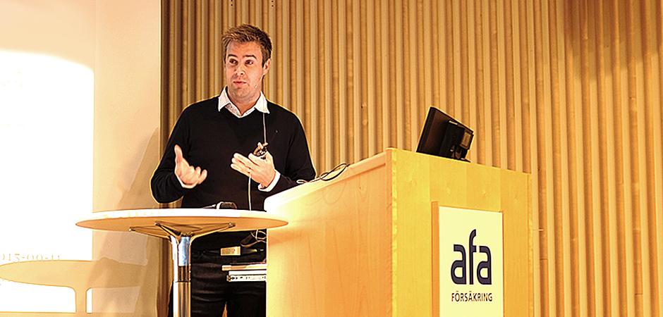 – Det krävs oerhört mycket för att sänka ljudnivån i förskolan. Det tar längre tid för personalen att märka effekten av de organisatoriska åtgärderna än av de akustiska, sa forskaren Fredrik Sjödin på ett seminarium på AFA Försäkring.