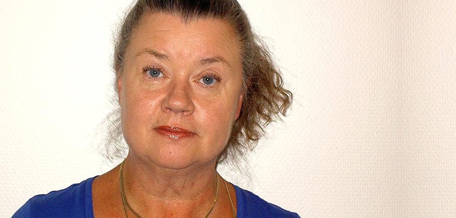Gunilla Strandberg, professor vid Institutionen för omvårdnad på Umeå universitet.