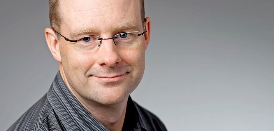 Johan Åhlin, doktor i omvårdnad på Umeå universitet.
