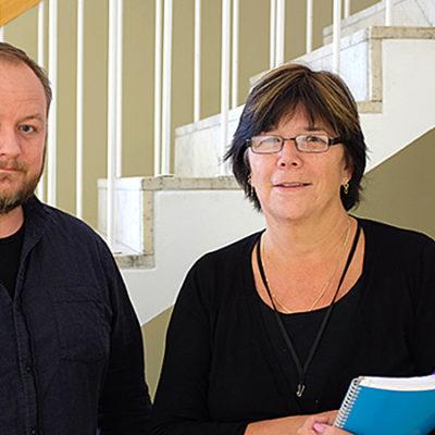 John Sjöström och Lisa Schmidt, forskare på IVL Svenska Miljöinstitutet.