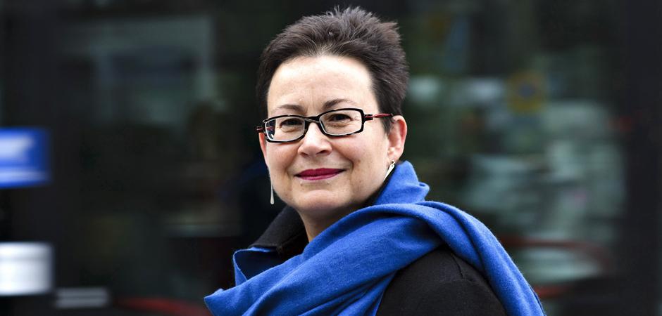 Överläkaren, docenten och forskaren Maria Albin.