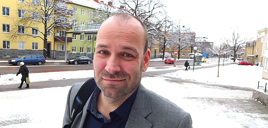 Stefan Blomberg, psykolog vid Arbets- och miljömedicin i Linköping.