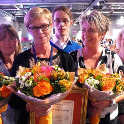 Kirurgavdelning 6 i Karlstad vann Suntarbetslivspriset