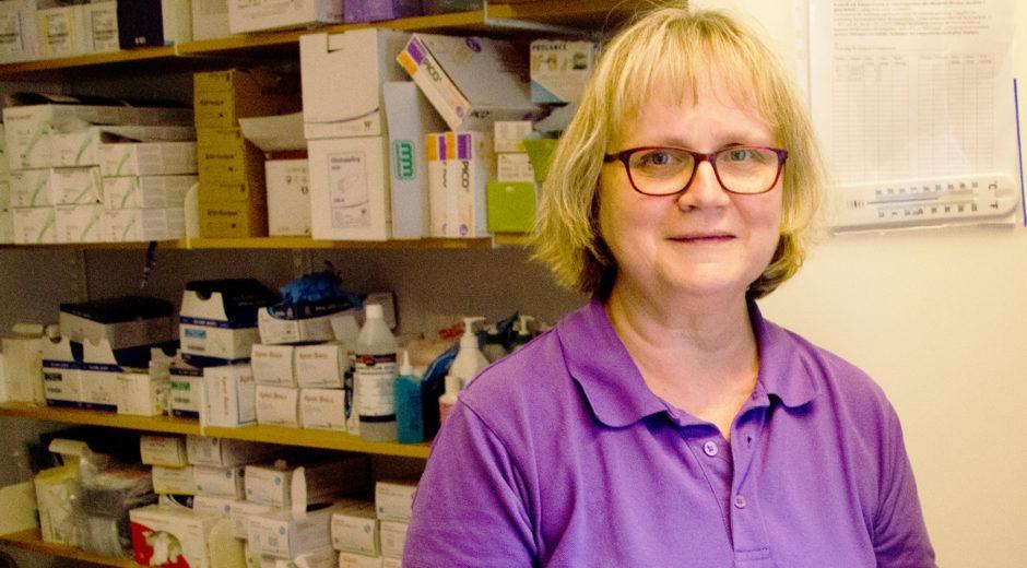 Anneli Platan sjuksköterska Skövde kommun