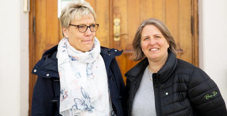 Bodil Lind, personalkonsult, Ewa Maria Nelander, rehabiliteringskoordinator, Eksjö, foto Linus Talltjärn