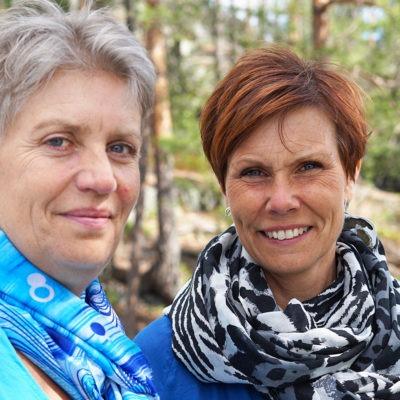 lena stenvall åsa forsell utbildar chefer i Västerbotten om psykisk ohälsa