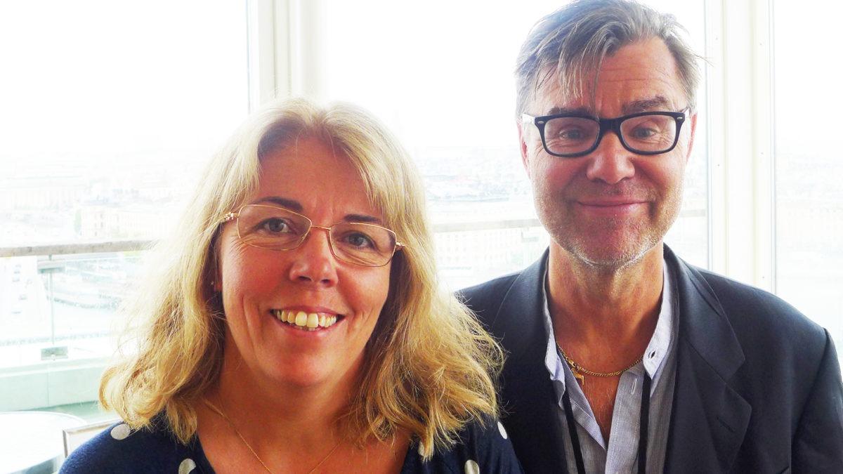 Linda persson Melin och Gunnar Sundqvist på SKL har tagit fram checklistan för första linjens chefer i kommuner och landsting.