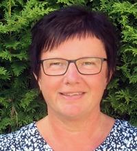 Porträtt Carina Pettersson, tema jul på jobbet
