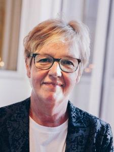 Porträtt Carina Bergman, projekt Arbetsglädje, Vård i annans hem
