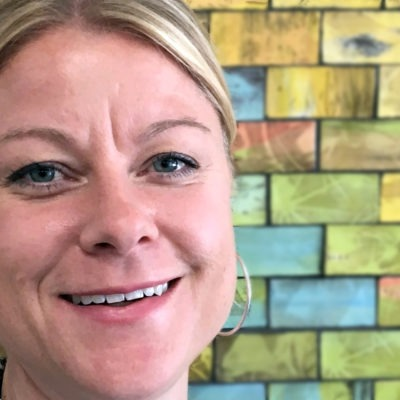 Närbild rektor Jenny Linde, lärares arbetstid