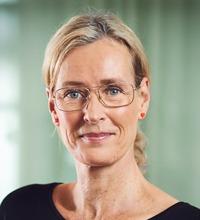 Ansiktsporträtt Petra Salino.
