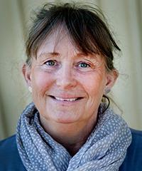 Porträtt Lena Berggren.