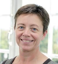 Porträtt Vibeke Andersen, träning som arbetsuppgift i Köpenhamn.