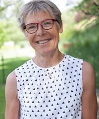 porträtt på Annemarie Hultberg, utvecklingsledare på Institutet för stressmedicin.