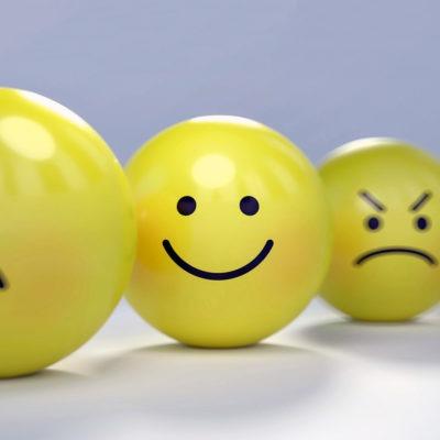Fyra smiley, social arbetsmiljö.