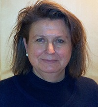 Närbild på Lise-Lotte Hamfelt, Arbetsmiljöverket.