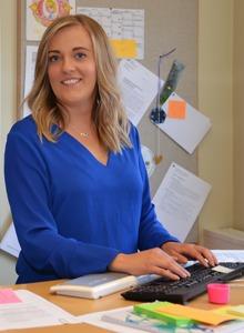 Michelle Ryan, socialsekreterare i Nässjö, använder arbetstyngdsmätning.