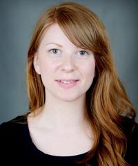 porträtt av sofie fredriksson, forskare vid Arbets- och miljömedicin, Sahlgrenska Akademin i Göteborg.