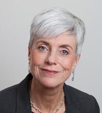 Ansiktsporträtt Åsa Furén-Thulin, socialsekreterares arbetsmiljö.