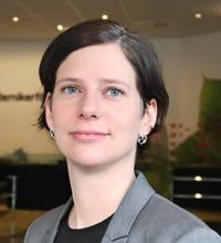Ansiktsporträtt Josefine Johansson, socialsekreterares arbetsmiljö.
