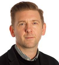 porträtt på Erik Berntson, docent i psykologi på Stockholms universitet.