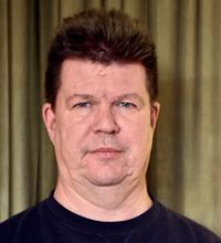 Ansiktsporträtt Peter Larsson, Kommunal.