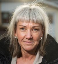 Ansiktsporträtt Malin Andersson.