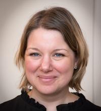 Ansiktsporträtt Helena Hellnemo.