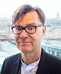 Ansiktsporträtt Gunnar Sundqvist.