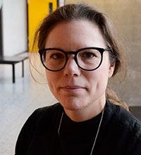 Porträttbild på Kristina Palm.