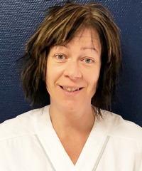 Anita Axesol Greis, skyddsombud och sjuksköterska på ögomottagningen, Oskarshamns sjukhus.