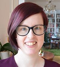 Porträtt på Kajsa Bergwall