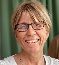 Porträttbild på enhetschefen Karin Johansson.