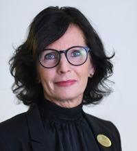 Porträtbildt på Lena Wallberg.