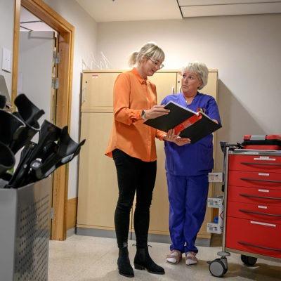 Sjukhus med koll på medarbetarnas hälsa