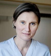 PorträttpåLinda Knutsson Fröjd, vårdenhetschef på kirurgavdelningen, Hudiksvalls sjukhus.