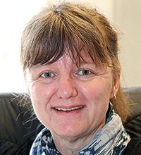 Porträttbild på Ann Georgsson.