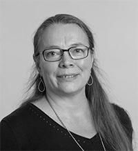 Porträtt på Kerstin Wrisemo.