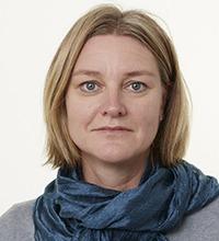 Porträtt på Kristina Folkesson