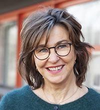 Porträttbild på Inger Ekman.