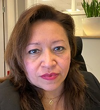 Porträtt på Macarena Robles.