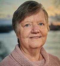 Porträtt på Maria Steinberg.